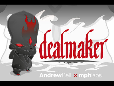 The Dealmaker Vinyl Figure by Andrew Bell