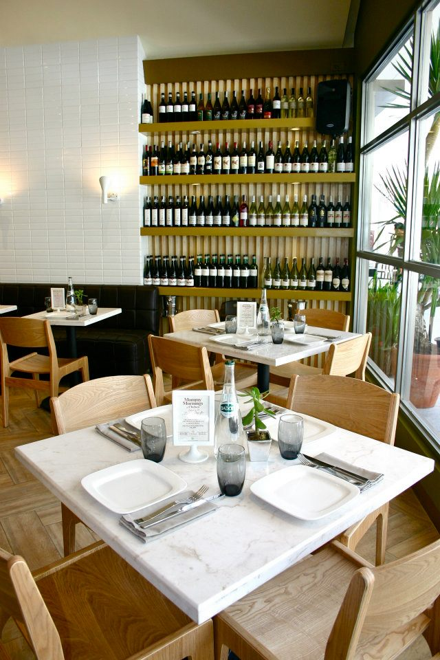 Weng zaballa stella wood fired bistro bringing more for Inviting interiors
