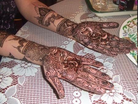 Bridal Mehndi Design Book : Simple mehndi designs henna bridal