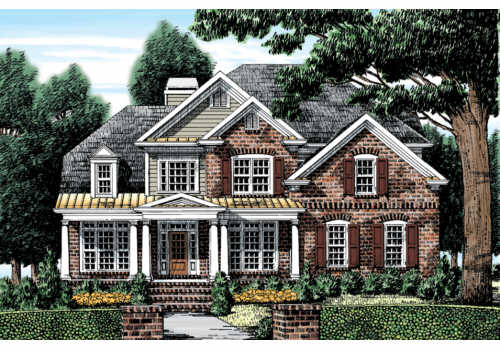 The lakeshore by frank betz associates for Oconee capital home builders