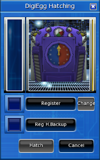 Digimon Masters Hatching Feature