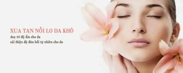 Mặt nạ thích hợp giúp dưỡng ẩm cho da khô