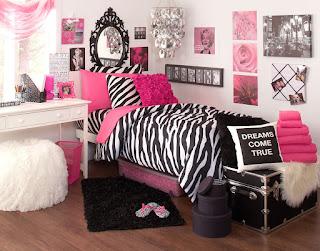 Zebra Bedroom Design