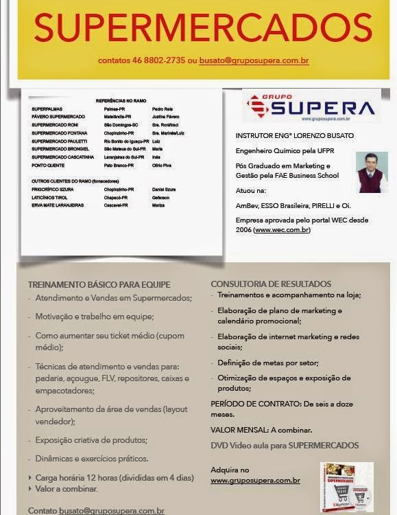treinamento para supermercados, consultoria para supermercados, lorenzo busato, ticket médio, como aumentar as vendas
