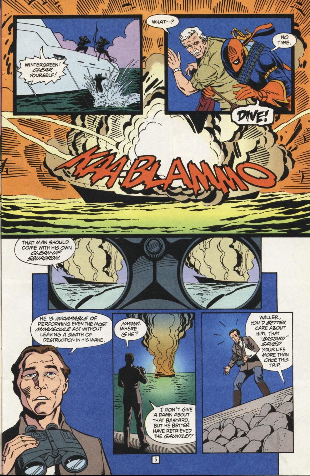 Deathstroke (1991) Issue #31 #36 - English 6