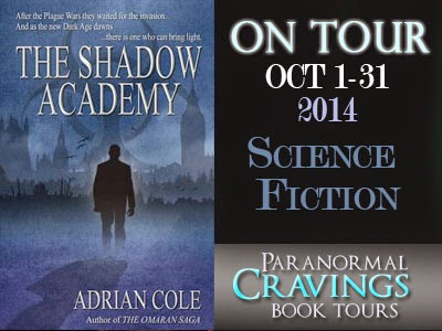 Blog Tour: The Shadow Academy By Adrian Cole
