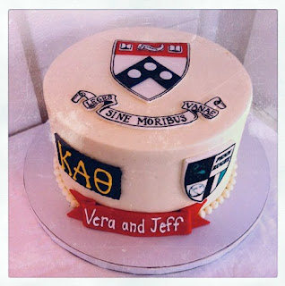 UPenn engagement cake