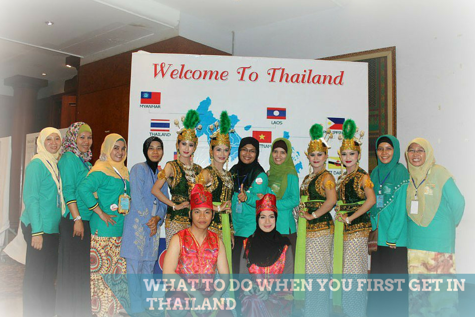 Apa yang Harus Dilakukan Ketika Baru Sampai di Thailand? What To Do When The First Get in Thailand?