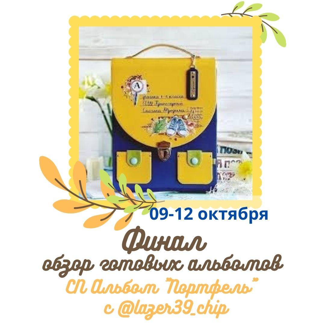 """Итоги СП """"Альбом-портфель"""""""