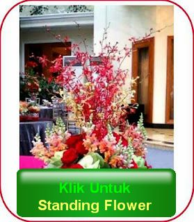 standing flower congratulation