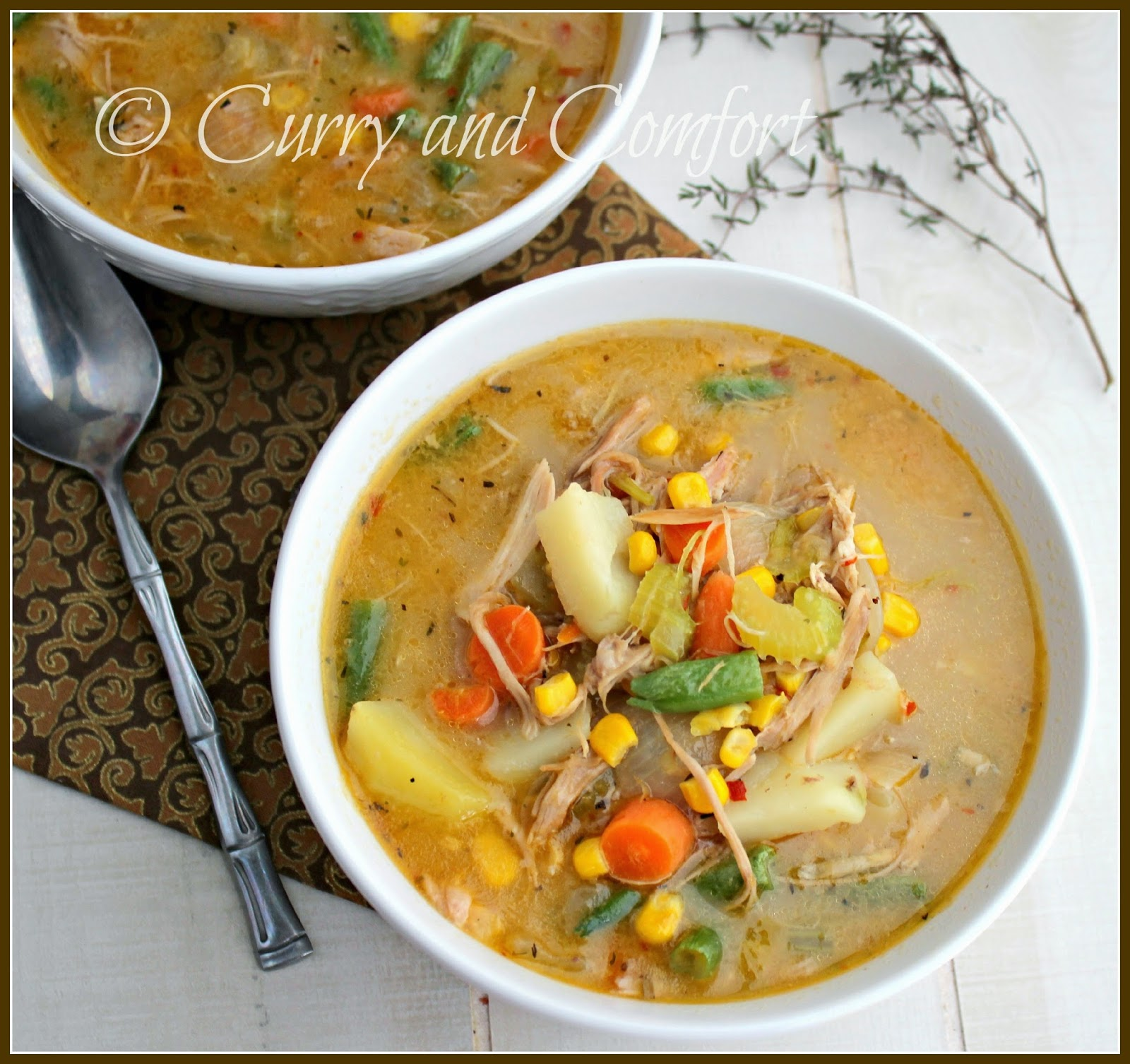 Kitchen Simmer: Chicken Pot Pie Chowder