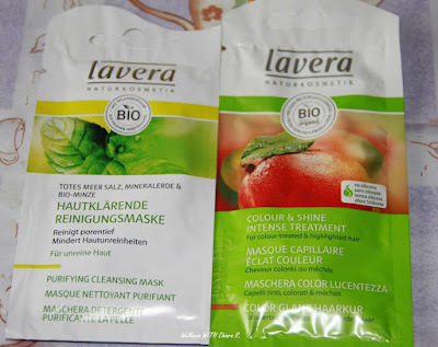Samples Lavera - Haul by Chiara R.