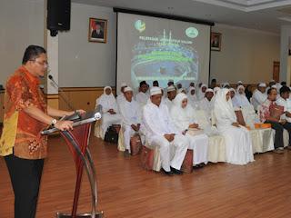 PTPN III Tepung Tawari 56 Calon Jamaah Haji 2015