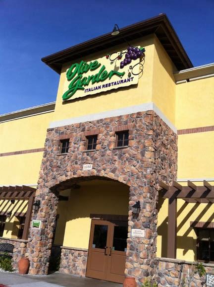 Thriving Gfcf Olive Garden Restaurant Review