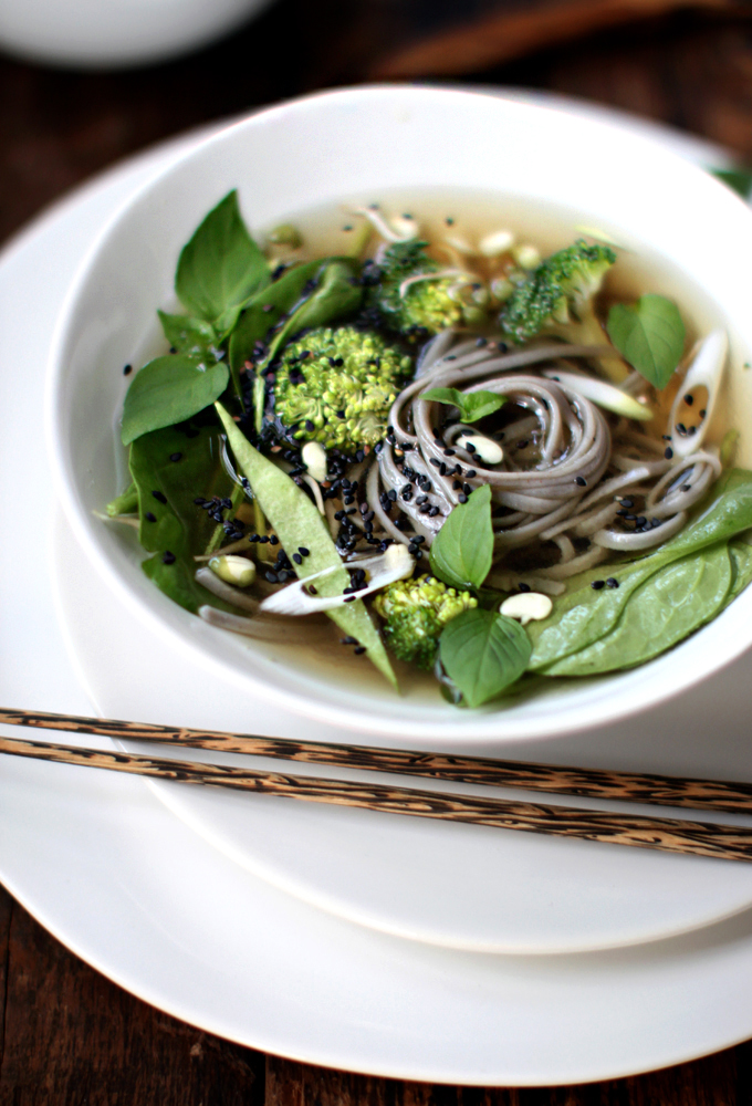 Pho-Inspired Noodle Bowl - My New Roots
