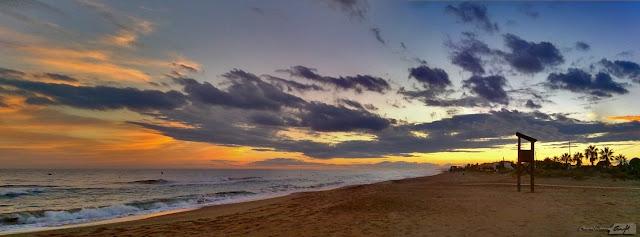 Panorámica playa de Roda de Barà