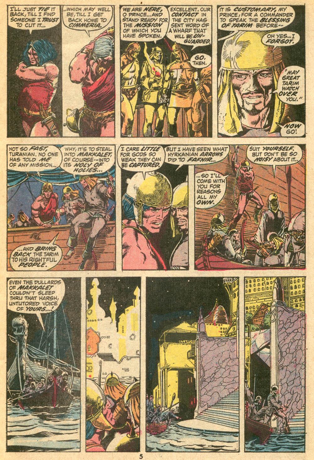 Conan the Barbarian (1970) Issue #20 #32 - English 5