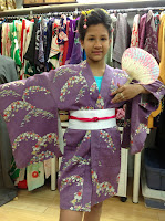 Ready for Japanese party from Kimono House NY