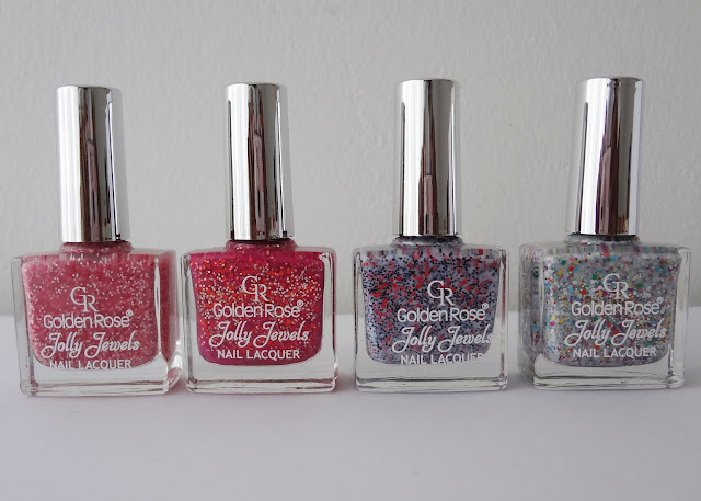 Golden Rose Jolly Jewels polishes