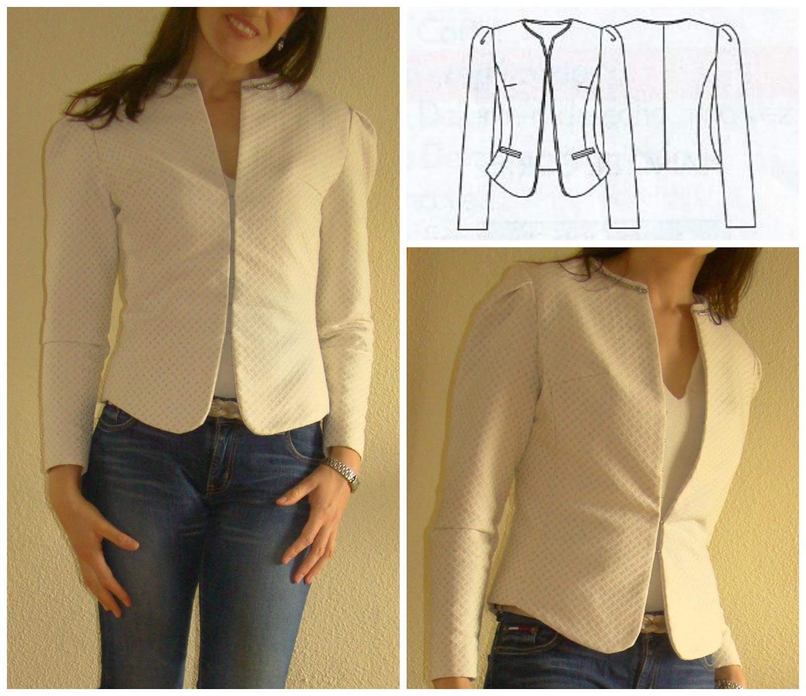 La chaqueta de Patrones ~ Moda en la Costura