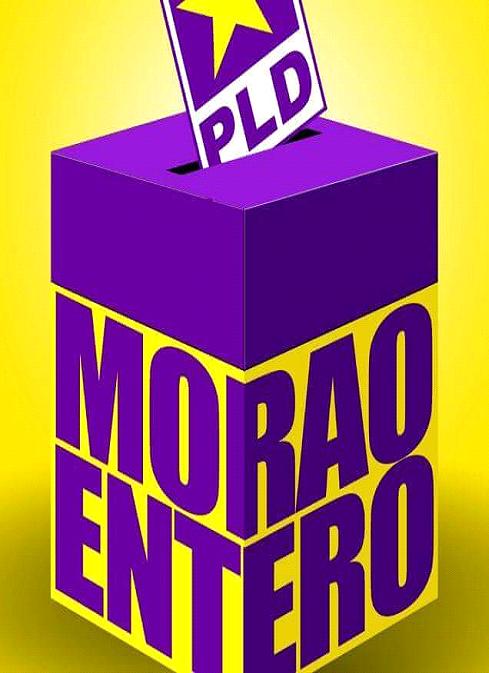 """COMO QUIERE DANILO, """"MORAO ENTERO, EL """" EN LAS BOLETAS A, B Y C, EL 15 DE MAYO"""