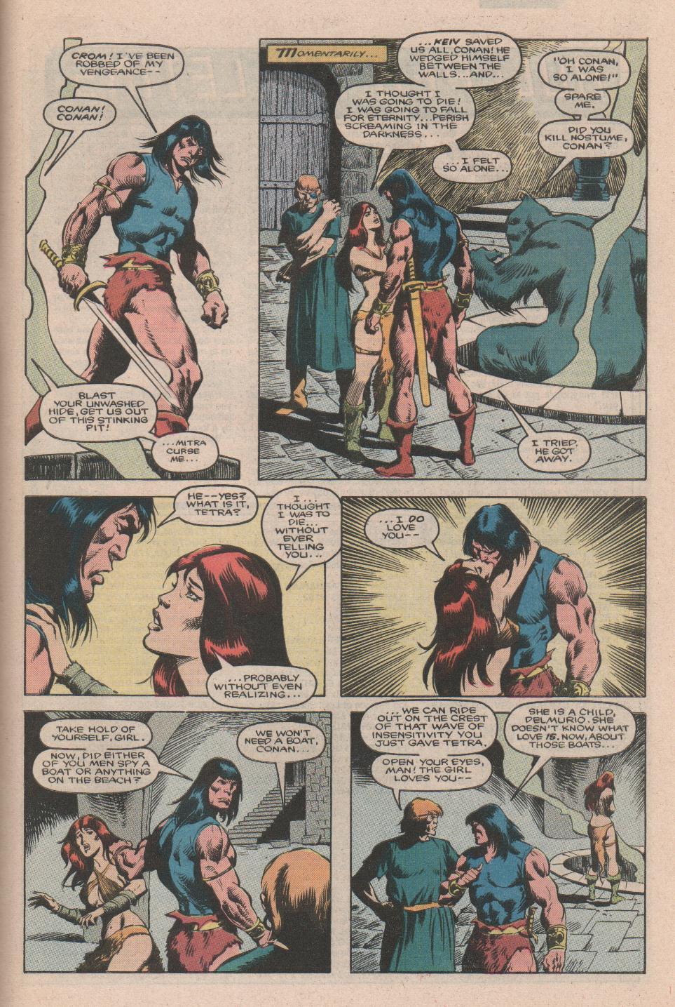 Conan the Barbarian (1970) Issue #177 #189 - English 19