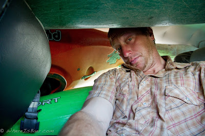 another comfortable ride to the river, Chris Baer, Colombia