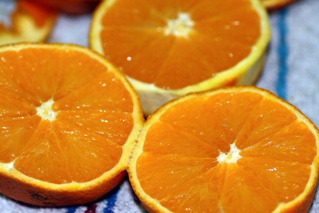 receta de arroz con naranja y azafrán