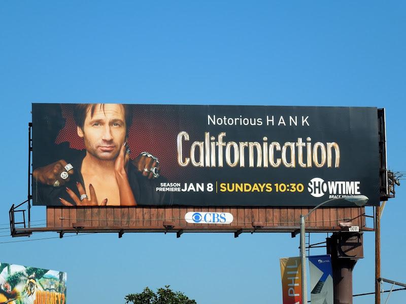 Californication 5 TV billboard