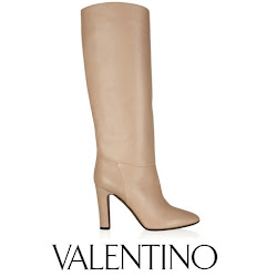 Mary's Style: Valentino Leather Knee Boots and Prada Saffiano Tote Bag