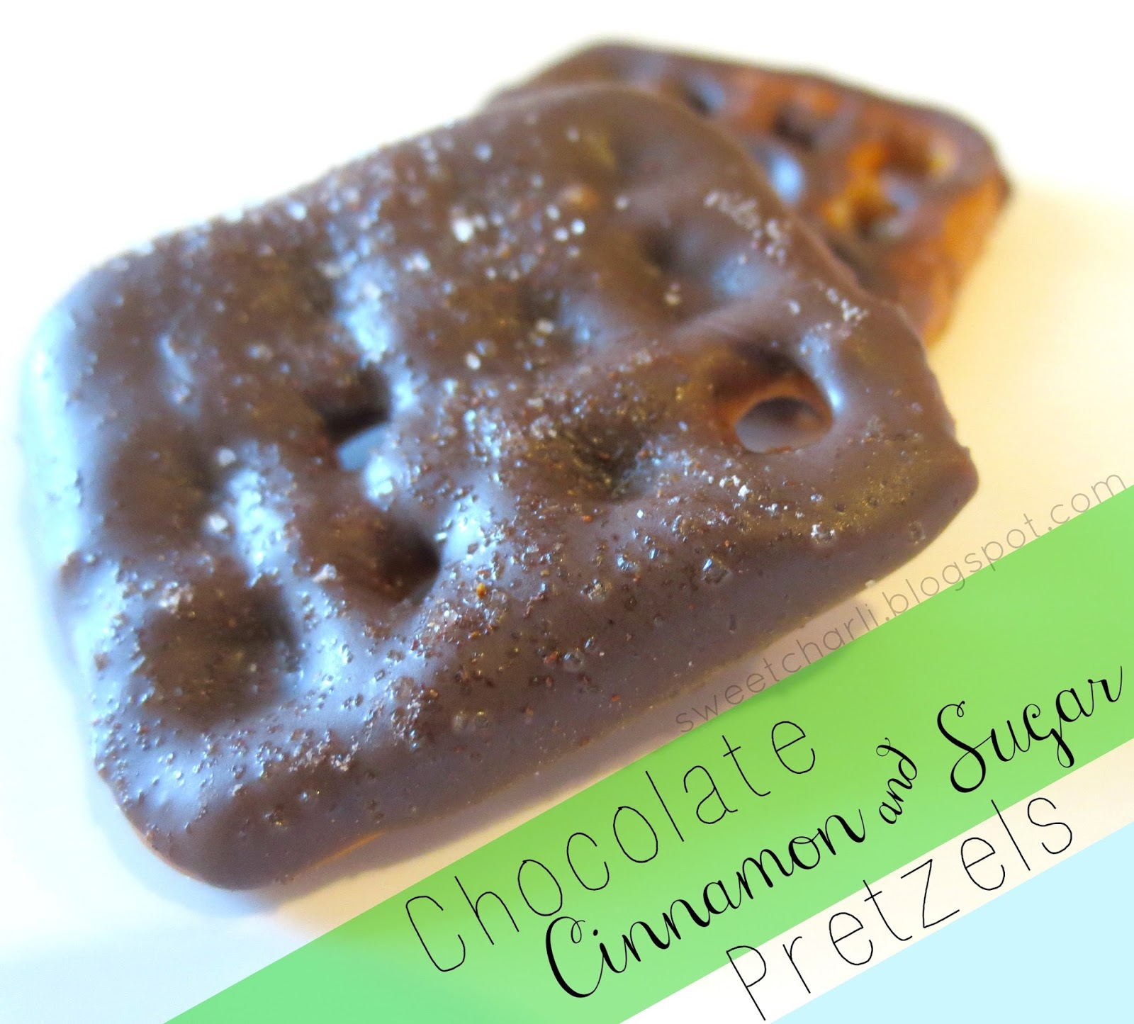 ... chocolate sets up you will love these chocolate cinnamon sugar pretzel