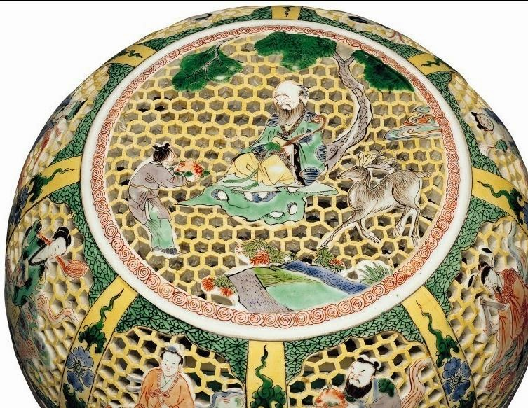 "<img src=""Detail Kangxi Reticulated Box .jpg"" alt="" Famille Jaune on Biscuit"">"