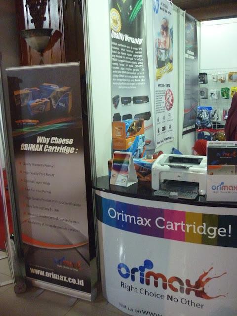 Orimax on Pertamina Technopreneur Expo 2012