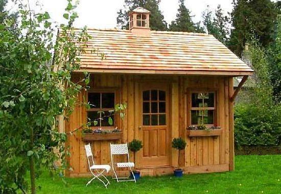 Садовый домик недорого своими руками
