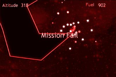 Lunar Lander HTML5 web game