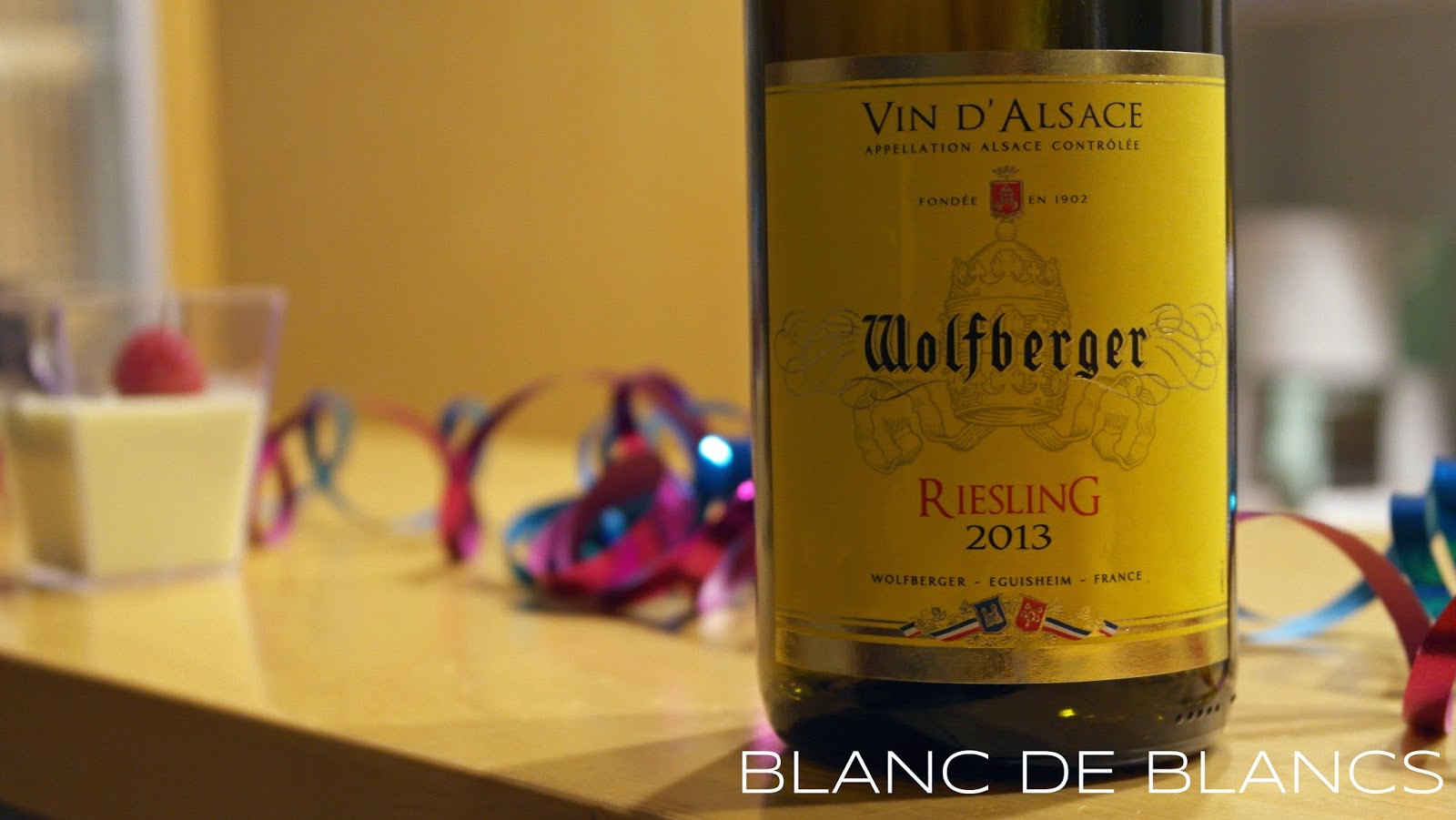 Wolfberger Riesling 2013 - www.blancdeblancs.fi