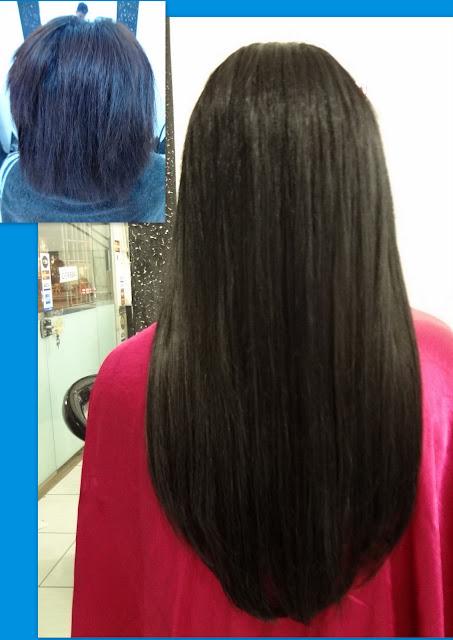 mega hair em cabelos curtos