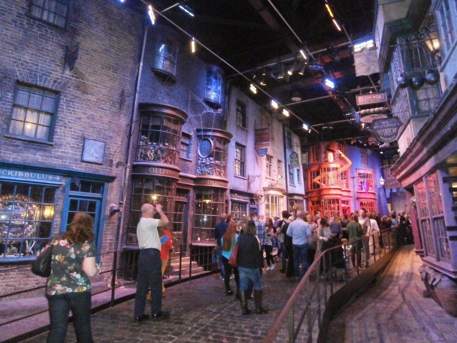 Warner Bros Studio Harry Potter, Callejón Diagon