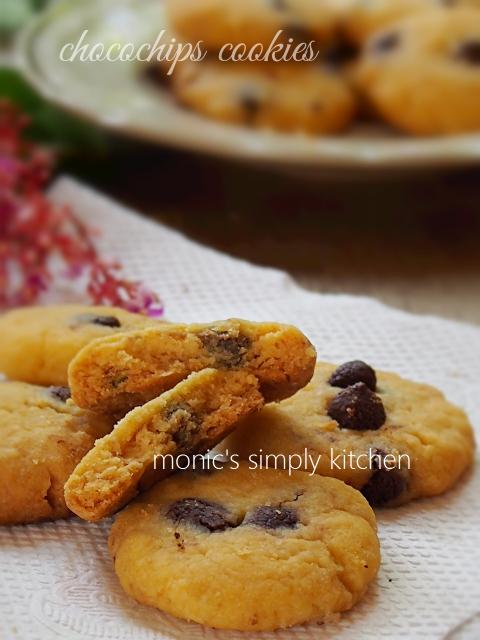 chocochips cookies renyah margarin