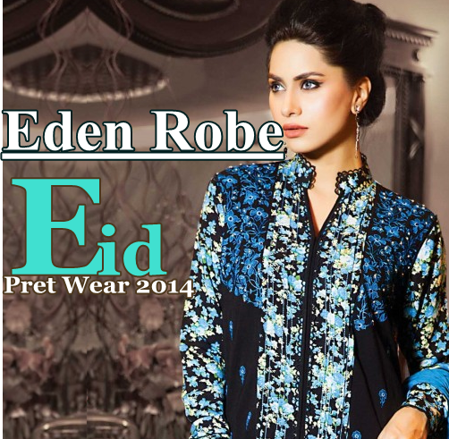 Eden Robe Prêt Eid Collection 2014