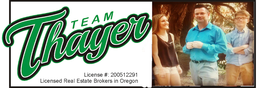 Team Thayer Oregon Real Estate News