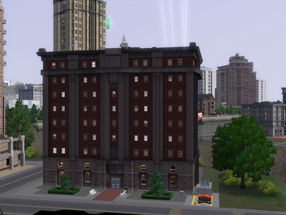 how to build apartments in sims 3 late night