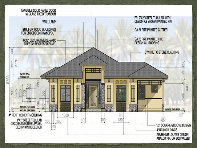 Model houses philippines floor plan