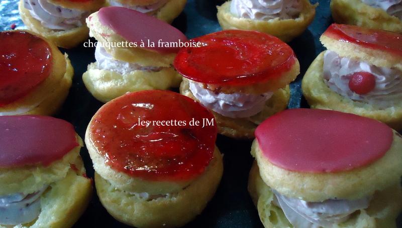 les recettes de jm les chouquetttes 224 la framboise