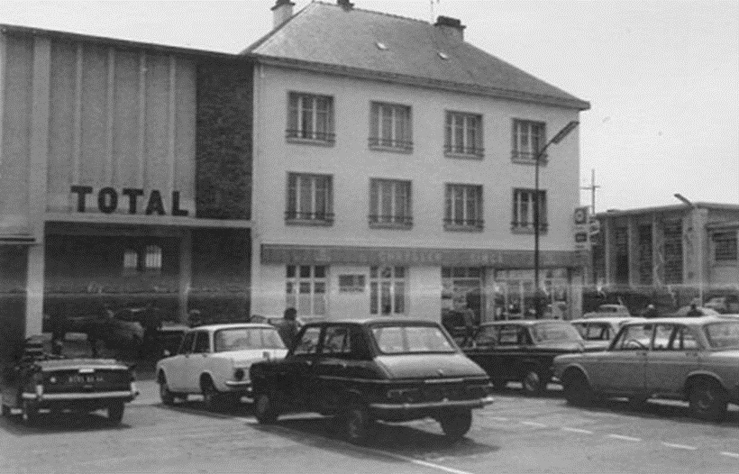 Saint nazaire reconstruction d 39 une ville st nazaire garage total pineau - Garage citroen saint nazaire ...