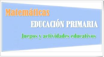 Conjunto de juegos y actividades de Matemáticas de Primaria