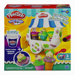 Sweet Shoppe Ice Cream Sundae Cart Playset