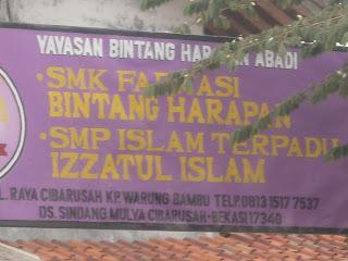 Sekolah SMP IT Izzatul Islam di ajarkan lebih banyak pelajaran keagamaan (Islam), SMP IT Izzatul Islam lebih bermutu kualitasnya di bandingkan sekolah yang sederajat di Cibarusah, SMP IT Izzatul Islam menjadi alternatif pilihan nomor satu daripada SMP yang lain