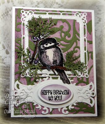 ODBD Products - You Will Find Refuge, ODBD Custom Chickadee Die, Be Joyful