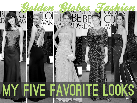 Fashion: Golden Globes 2012